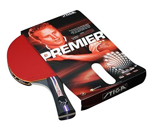 Racchetta tennis tavolo Stiga Premier - Rossa