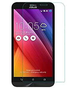 VJOY Antishock Tempered Glass Screen Protector for Asus Zenfone 2 ZE551ML and (Single Front Transparent Screen Protector) Freebies Offer : The Great Grand Diwali Deal (Get a VJOY 5200 mAh Power-Bank RED) (1 Year Replacement Guarantee, Li-ion Battery, Long Battery-Life) worth Rupee 1599/- absolutely free with Screen Protector)