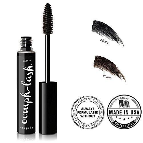 CUEPIDO Oomph-lash Long Wearing Waterproof Mascara (BLACK) - Ebony 0.2oz/5.7g by Cuepido