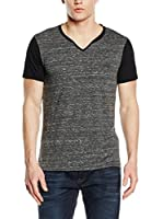 Guess Camiseta Manga Corta Play To Win (Gris / Negro)