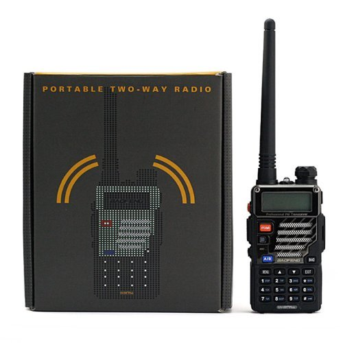 BaoFeng *UV-5R Plus* UV 5R+ Dual-Band 136-174/400-480 MHz FM Ham Two-way Radio, Improved Stronger Case, More Rich and Enhanced Features (2013 Enhanced Version)