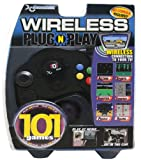 Plug-N-Play Wireless Controller with 101 Games