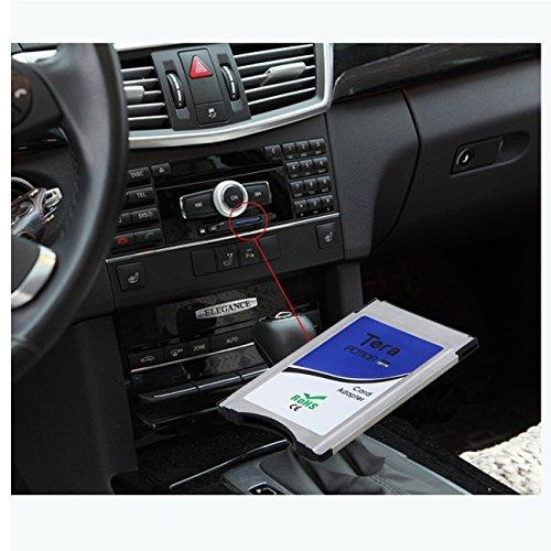 Tera® SDHC PCMCIA Adapter per Mercedes-Benz W212 W221 W204 Mercedes COMAND APS W207 C197