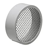 Raven TVS2SS PVC Termination Vent with Stainless Steel Screen, 2