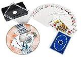 DVD解説付き オールプラスチック製 マジックトランプ