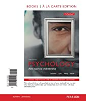 Psychology: From Inquiry to Understanding, Books a la Carte Edition (3rd Edition)