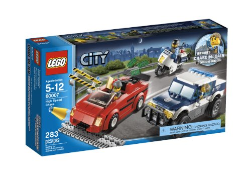 51yXMdPewPL LEGO City Police High Speed Chase 60007