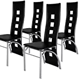 Miadomodo� EZSTL05-2 Dining Chair 4-pc Set (black)by Miadomodo�