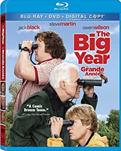 The Big Year [Blu-ray + DVD + Digital Copy] (Bilingual)