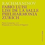 ラフマニノフ : ピアノ協奏曲 第1番~ 第4番   パガニーニの主題による狂詩曲 (Rachmaninov : Piano Concertos 1-4   Rhapsody on a Theme of Paganini / Fabio Luisi   Lise De La Salle   Philharmonia Zurich) (3CD) [輸入盤] [日本語帯・解説付]