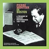 「モントゥー・イン・ボストン1951-58ライヴ録音集」