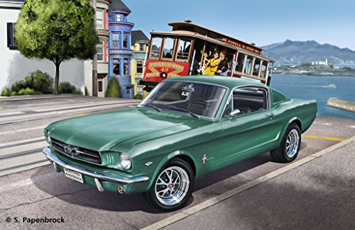 Revell Germany 1965 Ford Mustang 2+2 Fastback Plastic Model Kit (1/25 Scale) (Ford Mustang Ii compare prices)