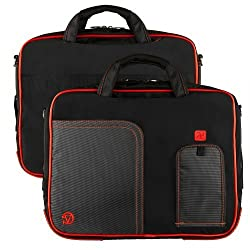 Vg Inc Tablet Messenger Bag (Red)