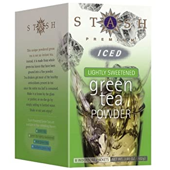 Sweetened Green Iced Tea Powder