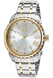 Men's Two-Tone Stainless Steel Silver-Tone Dial