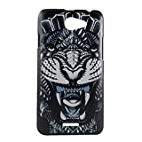 Exclusive Hard Back Cover Case For HTC Desire 516 - Rorring Tiger