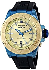 Invicta Men's 13797 Pro Diver Analog Display Japanese Quartz Black Watch