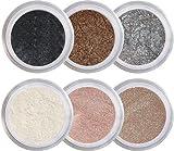 Natural Beauty Mineral Eyeshadow Kit 100% Pure All Natural Mineral Makeup Not Bare Minerals, Bare Escentuals, Mineral Fusion, Mac