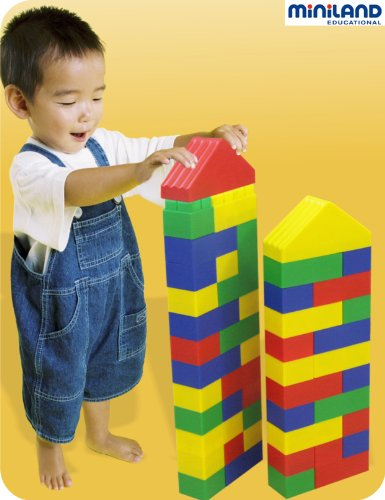 Briques Geantes Ultra Souples - Lot De 40 [Jouet]