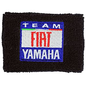 Yamaha FIAT Racing Brake Reservoir Sock Cover Available in Black, Blue and White. Fits R1, R6, R6S, YZF-600, YZF-1500, YZF, 600, 1500, Thundercat
