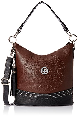 Lino Perros Women's Handbag (Orange and Brown)