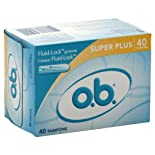 O.B. Tampons, Super Plus, 40 ct.
