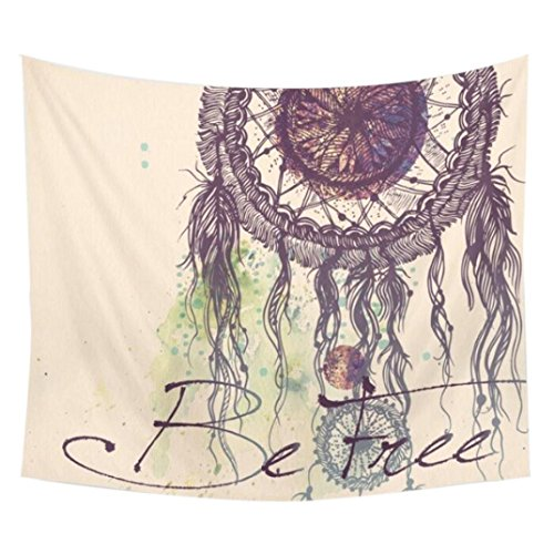 Hunputa-Dream-Catcher-Square-Hippie-Tapestry-Beach-Throw-Mandala-Towel-Yoga-Mat-Wall-Handing