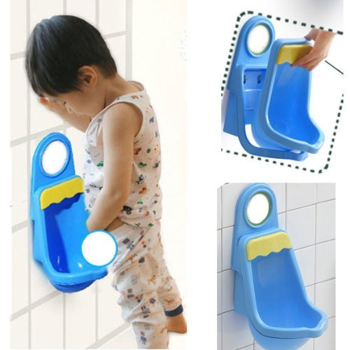 Vktech Potty Training Urinal for Boys Pee,Blue - 1
