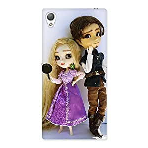 Cutest Couple Multicolor Back Case Cover for Sony Xperia Z3