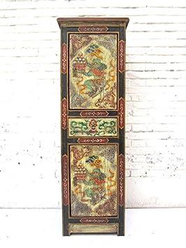 Chine 1930Manomètre de commode armoire dans les tons pastel peint bois de pin de Luxury Parc
