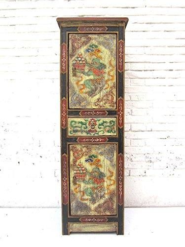 China 1930halbhohe–Cassettiera in tonalità pastello dipinta in legno di pino di Luxury Park