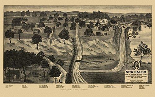 vintage-map-of-new-salem-illinois-1909-menard-county-fine-art-print-4572-x-6096-cm