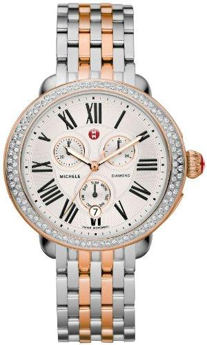 Michele Serein Diamond Two-tone Rose Gold Ladies