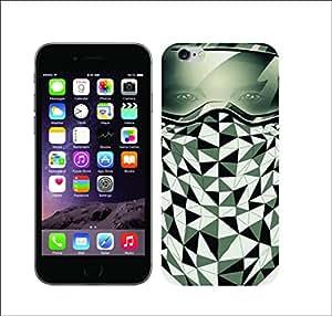 Purple Dew Drops 1556 Bandana Snow Boarder Hard Cover for Apple iPhone 6
