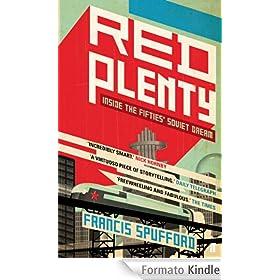 Copertina di Red plenty: le righe del disegno la fanno sembrare storta, ma non lo è