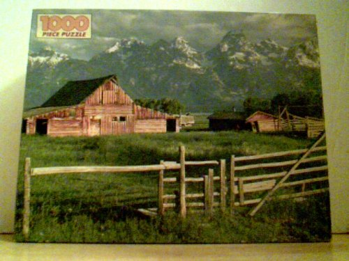 "Golden 1000 Piece Puzzle 21.5"" X 27.5"" - Mountain Retreat"