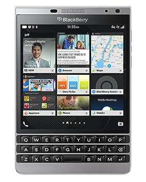 BlackBerry Passport Silver Edition Smartphone débloqué Qwerty , 4G (Ecran: 4,5 pouces - 32 Go - BlackBerry OS 10.3) Argent (import Europe)