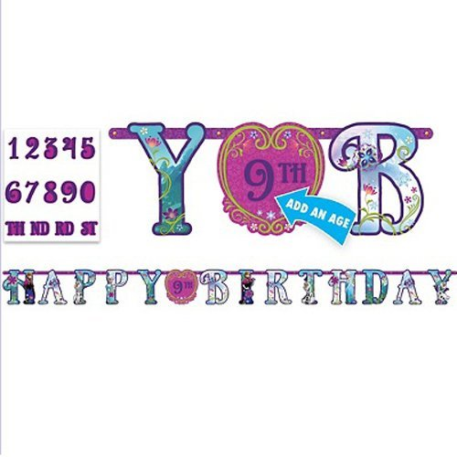 Frozen Jumbo Letter Banner Kit (1ct)