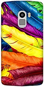 The Racoon Lean printed designer hard back mobile phone case cover for Lenovo K4 Note. (Feathery D)