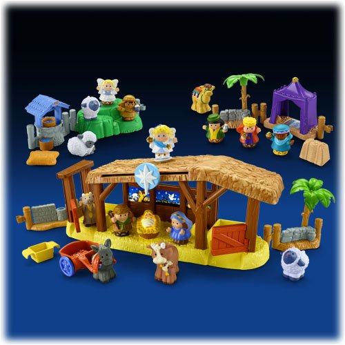 Fisher Price Nativity Playset front-957684
