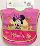Minnie Mouse 2 Count Waterproof Bibs