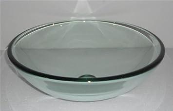 glas waschbecken beken waschschale waschtisch rund 42cm. Black Bedroom Furniture Sets. Home Design Ideas