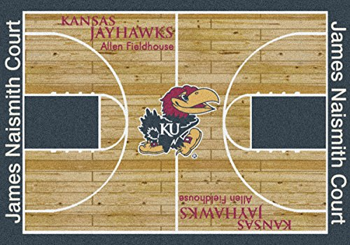 Kansas Jayhawks NCAA Area Rug (10'9