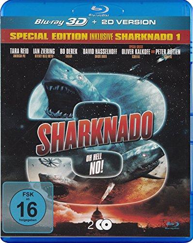 Sharknado 3 Oh Hell No! - Special Edition inkl. Sharknado 1 - 2 Blu-ray 3D & 2D Uncut [2 DVDs]