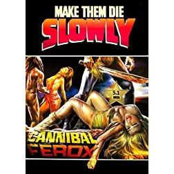 Make Them Die Slowly (Cannibal Ferox) [VHS Retro Style] 1981