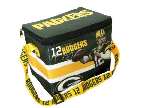 Green Bay Packers Aaron Rodgers NFL Zippered Lunch Bag at Amazon.com