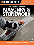 Black & Decker The Complete Guide to Masonry & Stonework, with DVD (Black & Decker Complete Guide)