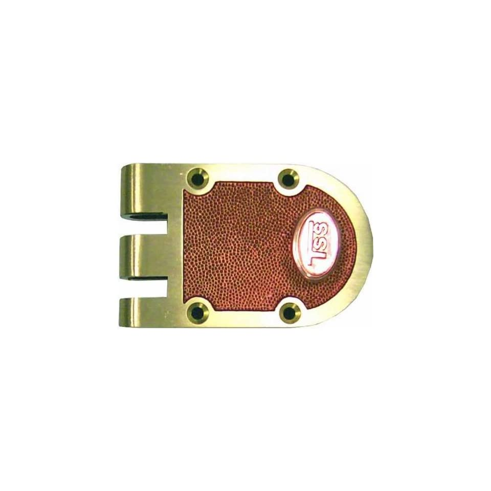 TSS (Segal Like) Jimmy Proof Deadlock Single Cylinder Lock Set, Bronze (US10),