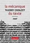 La m�canique du texte