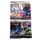 Pokemon Black & White Trading Card Game Booster Packs (4 Packs)